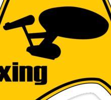 warp xing Sticker