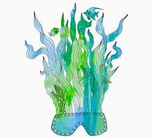 Psychedelic underwater snorkelling mask landscape Unisex T-Shirt