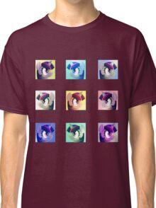 Twilight Sparkle portrait stickers Classic T-Shirt