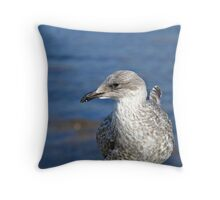 A Seagull's Life Throw Pillow