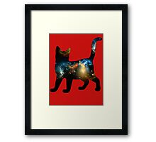 CELESTIAL CAT 3 Framed Print