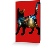 CELESTIAL CAT 3 Greeting Card
