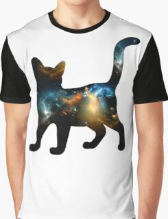 CELESTIAL CAT 3 Graphic T-Shirt
