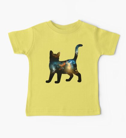 CELESTIAL CAT 3 Baby Tee