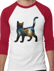 CELESTIAL CAT 3 Men's Baseball ¾ T-Shirt