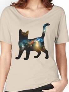 CELESTIAL CAT 3 Women's Relaxed Fit T-Shirt