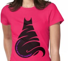 MY CAT NEGLECTS ME Womens Fitted T-Shirt