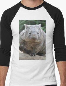 Wombat - World's Coolest Animal Men's Baseball ¾ T-Shirt