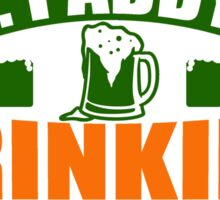 St. Patrick's Day: St. Paddy's Drinking Team Sticker