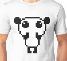 Cute pixel art panda Unisex T-Shirt