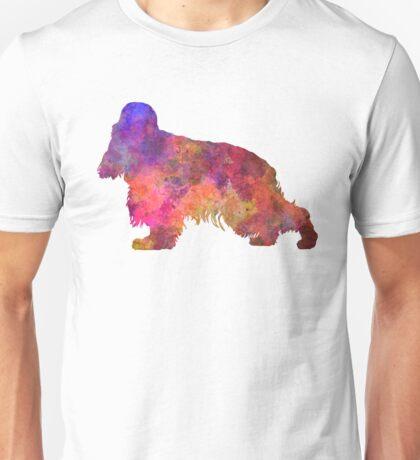 English Cocker Spaniel in watercolor Unisex T-Shirt