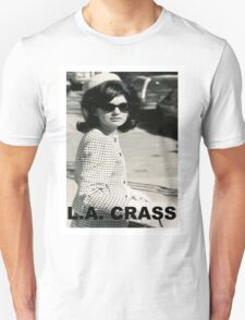 Jackie Kennedy Onassis - L.A. CRASS Unisex T-Shirt