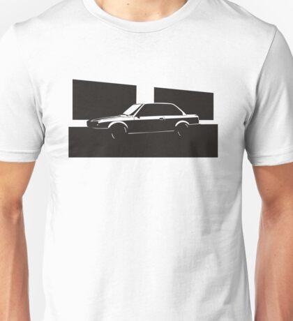 E30 Black Wall Unisex T-Shirt