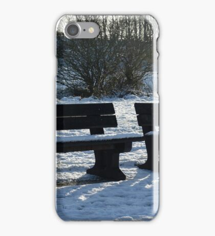 COLD SITTING iPhone Case/Skin