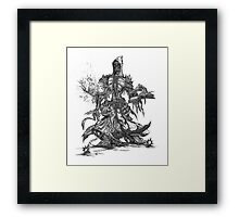 Lich unded mage Framed Print