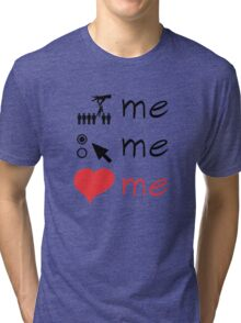 Grey's Anatomy --- Pick Me, Choose Me, Love Me (symbols) Tri-blend T-Shirt