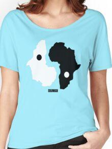 AFRICAN YIN YAN Women's Relaxed Fit T-Shirt