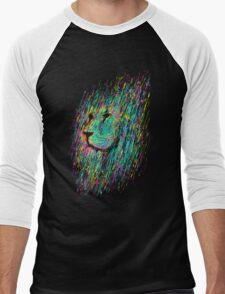 Unfinished Lion Men's Baseball ¾ T-Shirt