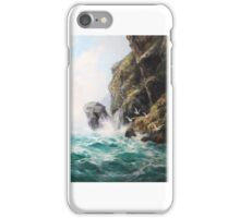 David James (British ,  Seagrit Cliffs iPhone Case/Skin