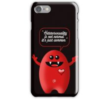 HETEROSEXUALITY iPhone Case/Skin