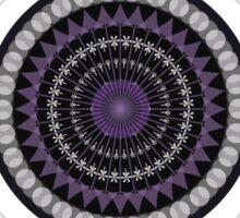 Mandala and stain glass Sticker