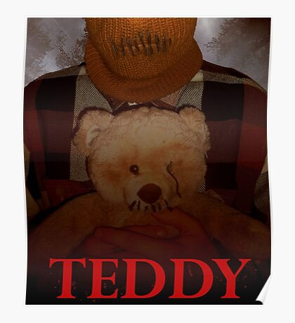 Slasher Studios - Teddy Merchandise  Poster