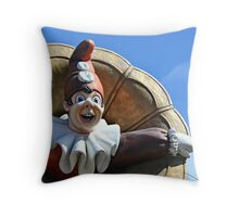 Punchinello I Throw Pillow