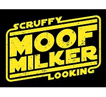 Scruffy Looking Moof Milker Photographic Print