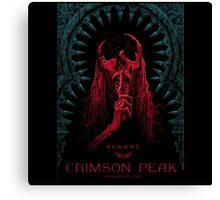 Crimson Peak The Movie Canvas Print