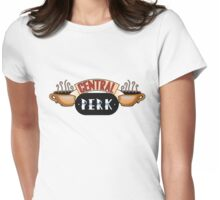 Friends - Central Perk Chrome Logo Womens Fitted T-Shirt