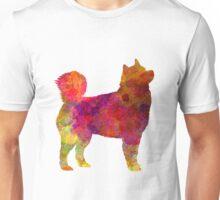 Husky Alaskan in watercolor Unisex T-Shirt