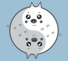 Cute pigs yin yang  Kids Tee