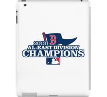 Boston Red Sox Champions Baseball iPad Case/Skin