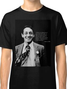 "Harvey Milk - ""Rights"" Quote Classic T-Shirt"