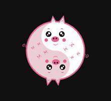 Cute pigs yin yang  Unisex T-Shirt