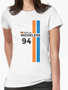 F1 2016 - #94 Wehrlein Womens Fitted T-Shirt