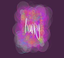 Happy! (purple) T-Shirt