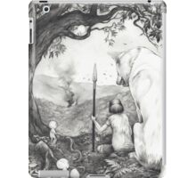 Between the roots and the branches iPad Case/Skin