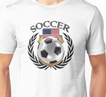 USA Soccer 2016 Fan Gear Unisex T-Shirt