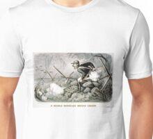 Double-barreled breech loader - 1880 - Currier & Ives Unisex T-Shirt