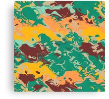Texture in retro colors Canvas Print