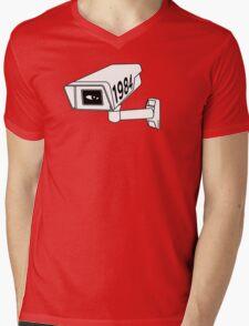 CCTV - George Orwell 1984 Mens V-Neck T-Shirt
