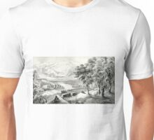 Dreams of youth - 1869 - Currier & Ives Unisex T-Shirt