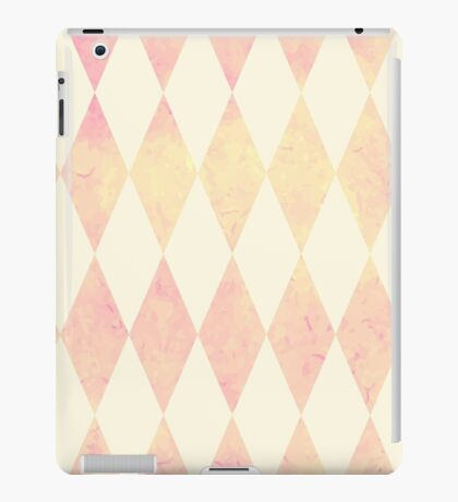 Watercolor rhombus seamless pattern. Geometric background iPad Case/Skin