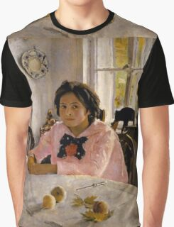 Valentin Serov - Girl with peaches Graphic T-Shirt