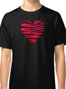 0007 American Rose Tiger Classic T-Shirt