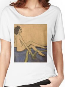 Valentin Serov - Ida Rubenstein . Model Women's Relaxed Fit T-Shirt