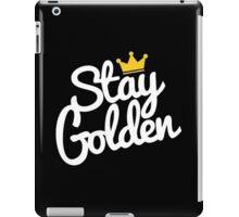 stay golden iPad Case/Skin
