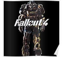 Fallout 4 Power Armor Original Digital Painting Poster