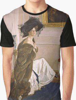 Valentin Serov - Portrait of Princess Olga Orlova  Graphic T-Shirt